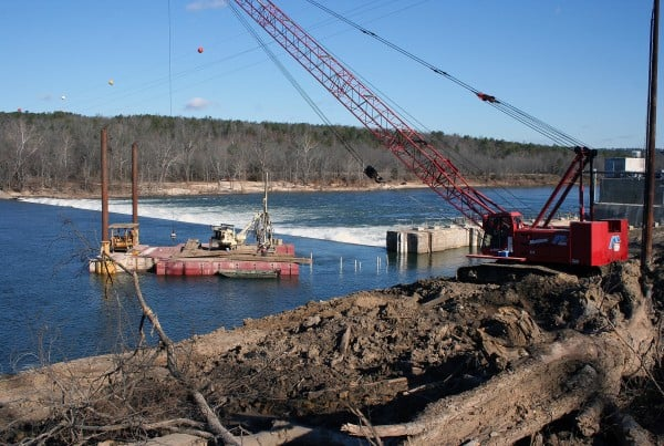 Marine Blasting - White River Hydroelectric