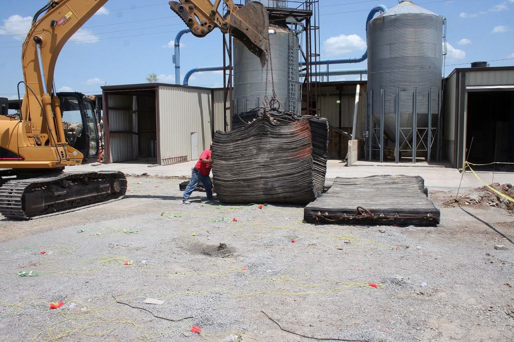 Gap Roofing Building Expansion Precision Blasting