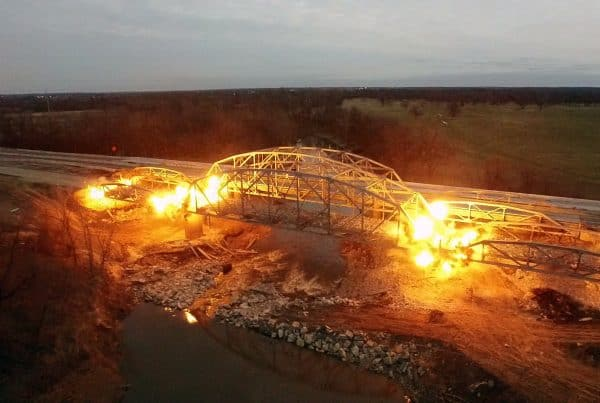 Highway 169 - Bridge Demolition