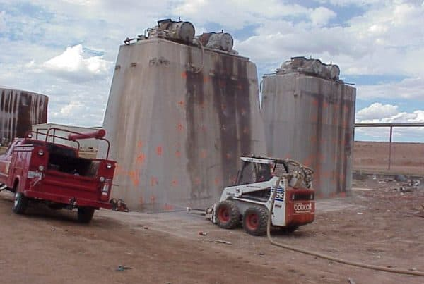 Abitibi Consolidated Concrete Demolition