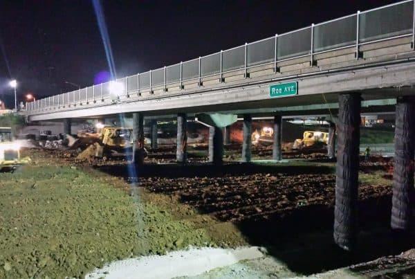 Roe Avenue Bridge Kanas - Demolition