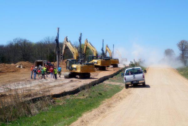 Atlas Pipeline Blasting