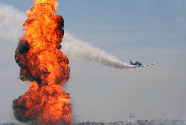 Tora Tora Air Show Precision Blasting