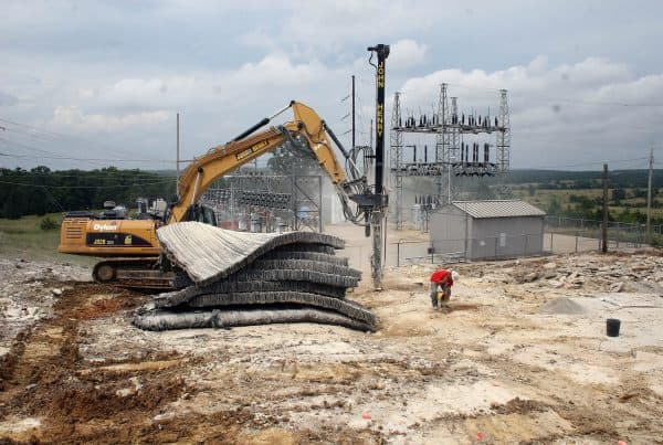 Sho-Me Electrical Substation Sitework