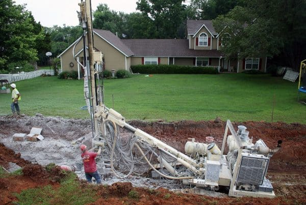 Highway 59 Sewer Line Drilling and Blasting