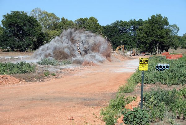 The Hamptons Subdivision Drilling and Blasting