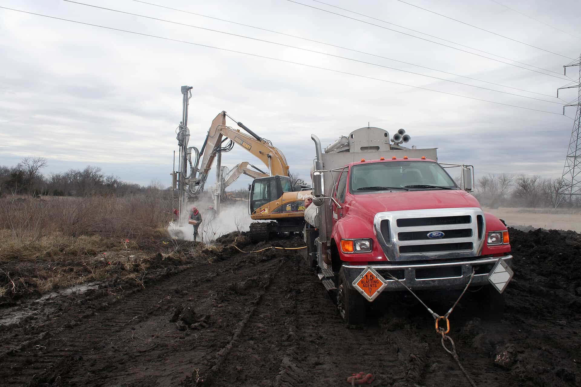 North Sewer Interceptor Utility Drilling and Blasting