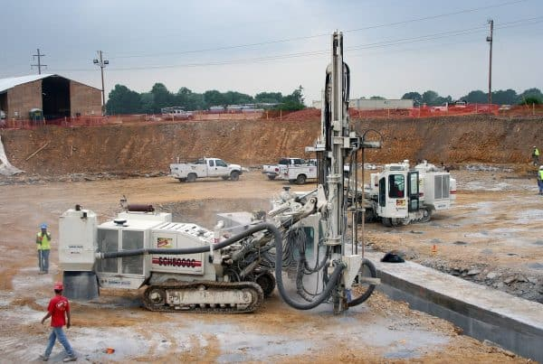 West Side Water Treatment Plant Rock Anchors Contract Drilling