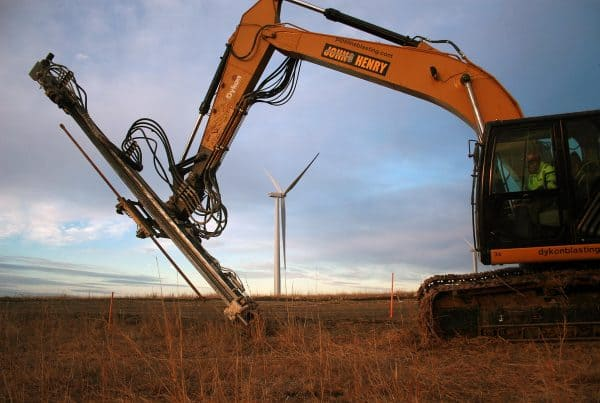 Osage Wind Farm Contract Drilling